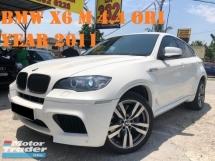 2011 BMW X6 M M (CBU)