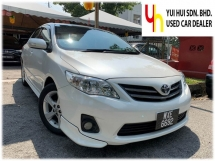 2012 TOYOTA COROLLA ALTIS 1.8 E FACELIFT (A) ORIGINAL PAINT 1 OWNER