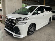 2016 TOYOTA VELLFIRE 2.5 ZG sunroof 4 camera power boot precrash system unregistered
