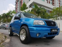 2003 SUZUKI VITARA 2 Door (No Off Road) Limited Color
