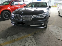 2016 BMW 7 SERIES 730LI LOCAL SPEC WARRANTY TILL 2021