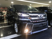 2015 TOYOTA VELLFIRE 2.5 Z MUST VIEW UNIT BEST IN TOWN PROMOTION GRAB IT NOW BEFORE TOO LATE