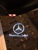 Mercedes W205 W212 CLA AMG Logo Door Lights  Other Accesories