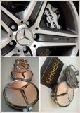 4pcs Mercedes Wheel Center Cap Rim cap 75mm Black or Silver Exterior & Body Parts > Others