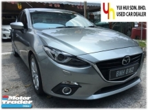 2015 MAZDA 3 2.0 SKYACTIV (A) LEATHER SEATS
