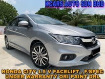 2017 HONDA CITY 1.5 V FACELIFT ACTUAL YEAR MAKE SUPER LOW MILEAGE