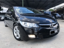 2007 HONDA CIVIC 1.8S-L i-VTEC, NEW FACELIFT, LEATHER SEAT, WELL MAINTAIN, HOT DEAL PROMOTION
