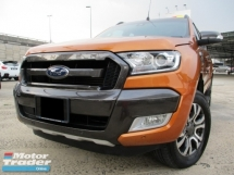 2016 FORD RANGER 3.2 (A) Wildtrack 4x4 Superb Condition
