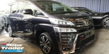 2018 TOYOTA VELLFIRE ZG 3.5V6 / JBL / NAPPAL LEATHER / 4 CAMERA / PRE-CRASH / 6A CONDITION ORIGINAL MILEAGE / READY STOCK