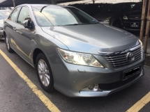 2013 TOYOTA CAMRY 2.0G Actual Year Make 2013