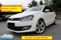 2011 VOLKSWAGEN POLO 1.2 TSi (A) Sports Edition (Ori Year Make 2011)(Loan Up To 7 Years)