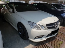 2010 MERCEDES-BENZ E-CLASS E250 1.8 AMG CABRIOLET (UK SPEC)