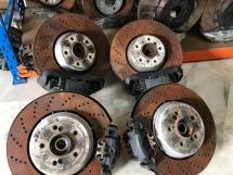 BMW e60 M5 Disc brake with calipers nakar complete original  Exterior & Body Parts