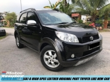 2012 TOYOTA RUSH 1.5G (AT) HIGH LEATHER SEATS SPEC TIPTOP CONDITION LIKE NEW CAR LOW MILEAGE ONE OWNER
