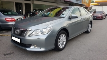 2013 TOYOTA CAMRY 2.0G (A) REG 2013, CAREFUL OWNER, PUSH START, MILEAGE DONE 80K KM, LEATHER SEAT, 16