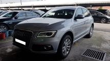 2015 AUDI Q5 2.0 TFSI QUATTRO (A) REG DEC 2015, ONE CAREFUL OWNER, FULL SERVICE RECORD, LOW MILEAGE DONE 28K KM, UNDER WARRANTY UNTIL DECEMBER 2019, 18