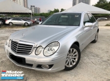 2007 MERCEDES-BENZ E-CLASS E200K,Sedan, One Owner,New Facelift,low Mileage ,Accident Free