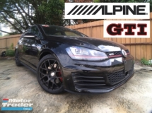 2014 VOLKSWAGEN GOLF 2014 Golf 2.0 GTi ( UNREG )  Alpine + Warranty  CAN NEGO NEGO !!!!