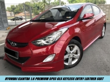 2014 HYUNDAI ELANTRA 1.6 GLS PREMIUM SPEC KEYLESS LADY OWNER LOW MILEAGE