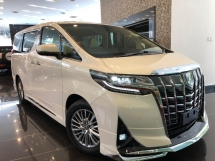 2018 TOYOTA ALPHARD 3.5 GF (FULL SPECS) -JBL SOUND SYSTEM - 8-SPEED - SUNROOF - 4 SURROUND CAMERAS - PRE-CRASH SYSTEM -MODELLISTA BODYKIT