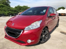 2015 PEUGEOT 208 1.6 hatchback,Accident Free,Low Mileage,One Owner