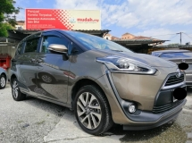 2018 TOYOTA SIENTA 1.5 V (A) LUCKY DRAW UNIT, MILEAGE 3900KM ONLY