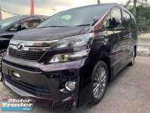 2014 TOYOTA VELLFIRE 2.4 GOLDEN EYE II FULL ALPINE UNREG 2014 14 Z PLATINIUM