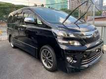 2014 TOYOTA VELLFIRE 2.4 GOLDEN EYE II UNREG 2014 14 TYPE GOLD 2 Z