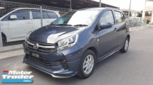 2018 PERODUA AXIA 1.0G FACELIFT (A) - Full Service and Warranty by Perodua / Bodykit / Leather Seat / Low Mileage