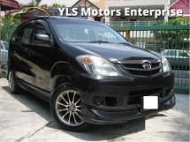 2008 TOYOTA AVANZA 1.3 (M) VVTI New Facelift 15 Sport Rims New Nankang Tires 1 Careful Owner Well maintained