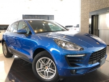 2015 PORSCHE MACAN S 3.0 (JAPAN SPECS) - BOSE SOUND SYSTEM - SPORTS CHRONO - REVERSE CAMERA - FULL LEATHER SEATS - MEMORY SEAT - POWER BOOT