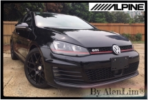 2014 VOLKSWAGEN GOLF GTI 2.0 (UNREG) ALPINE MONITOR 5 STAR CONDITION