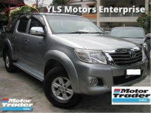 2013 TOYOTA HILUX 2.5 G VNT (A) 4x4 New Facelift