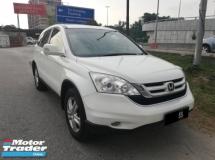 2011 HONDA CR-V Honda cr-v 2.0(a) i-vtec 2011 suv(full service) TIP-TOP CONDITION