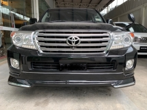 2009 TOYOTA LAND CRUISER ZX 60TH BLACK LEATHER SELECTION
