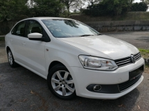 2014 VOLKSWAGEN POLO 1.6 (A) 6SPEED HP105 FACELIFT FULL SERVICE RECORD