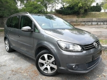 2012 VOLKSWAGEN CROSS TOURAN 1.4 TSI (A) FULL SERVICE RECORD HP140 CBU MODEL