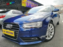 2013 AUDI A4 1.8 TFSI FACELIFT AUTO - BRAND NEW AUDI MAL -  B&O SOUND SYSTEM - PUSH START - PADDLE SHIFT - MMI - FULL LEATHER SEAT - LIKE NEW - VIEW TO BELIEVE -