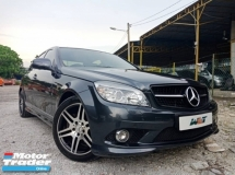 2008 MERCEDES-BENZ C-CLASS REG 11 1.8 (A) AMG SPEC GOOD CONDITION PROMOTION PRICE.