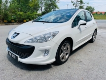 2009 PEUGEOT 308 TURBO PANAROMATIC 1 OWNER