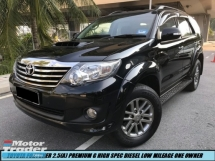 2014 TOYOTA FORTUNER 2.5G DIESEL TRD SPORTIVO PREMIUM HIGH SPEC TIPTOP SHOWROOM CONDITION LIKE NEW CAR