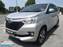 2018 TOYOTA AVANZA 1.5G GENUINE YEAR FACELIFT FULL SERVICES TIPTOP