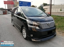 2008 TOYOTA VELLFIRE 3.5V L EDITION ONE CAREFUL OWNER