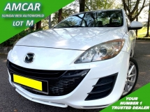 2010 MAZDA 3 SPORT 1.6 SDN (A) LEATHER IMPORT BARU