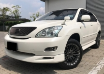 2005 TOYOTA HARRIER 3.0 (A) PREMIUM L 4WD AIR SUSPENTION P/ROOF LEATHER SEAT POWER BOOT BODYKIT GOOD CONDITION RAYA PROMOTION PRICE.
