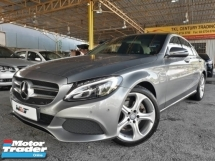 2016 MERCEDES-BENZ C-CLASS 2.0 (A) AMG CKD W205A AVANTGARDE 1 CAREFUL OWNER LOW MILEAGE RAYA PROMOTION PRICE.