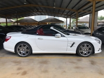 2015 MERCEDES-BENZ SL SL350 SL400 AMG 3.0 Bi Turbocharged 362hp 7G-Tronic Panoramic Roof 2 Memory Bucket Seat Active Suspension Body Control Full Intelligent LED Light Multi Function Paddle Shift Steering Bluetooth Connectivity Reverse Camera Unreg