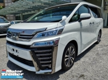 2018 TOYOTA VELLFIRE 2.5ZG Edition Sunroof Pre Crash Unreg Sale Offer