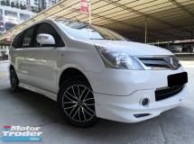 2013 NISSAN GRAND LIVINA Nissan Livina 1.6(A) IMPUL SPEC ONE OWNER