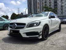 2015 MERCEDES-BENZ A45 2.0 (A) FULL SERVICE RECORD ** WARRANTY STILL AVAILABLE ** EXCELLENT CONDITION ** NICE NUMBER PLATE **